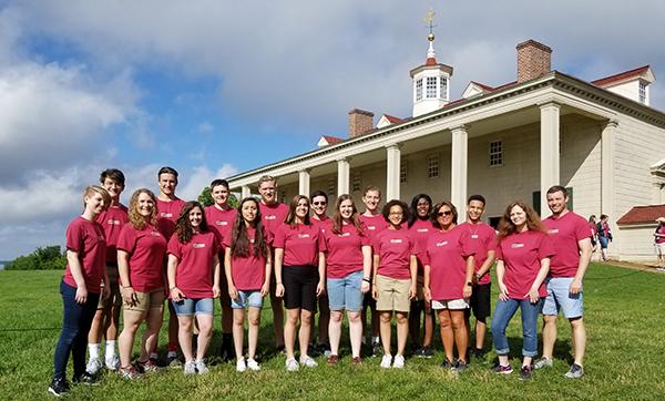 Local students visit Washington
