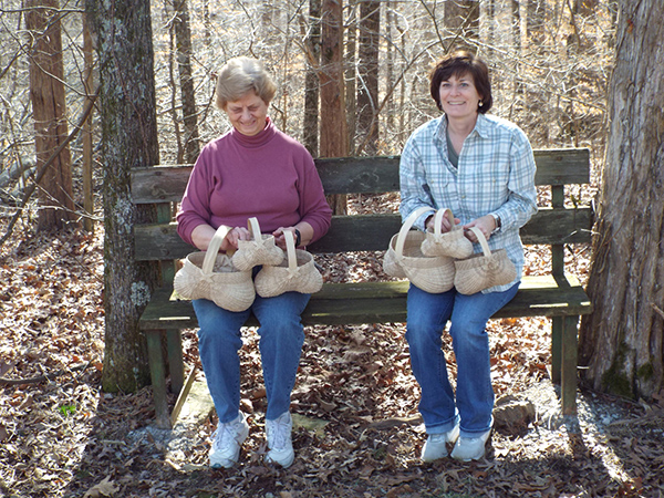 White Oak Basket makers demonstration March 8