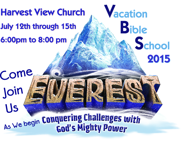 Harvest View VBS July 12th-15th