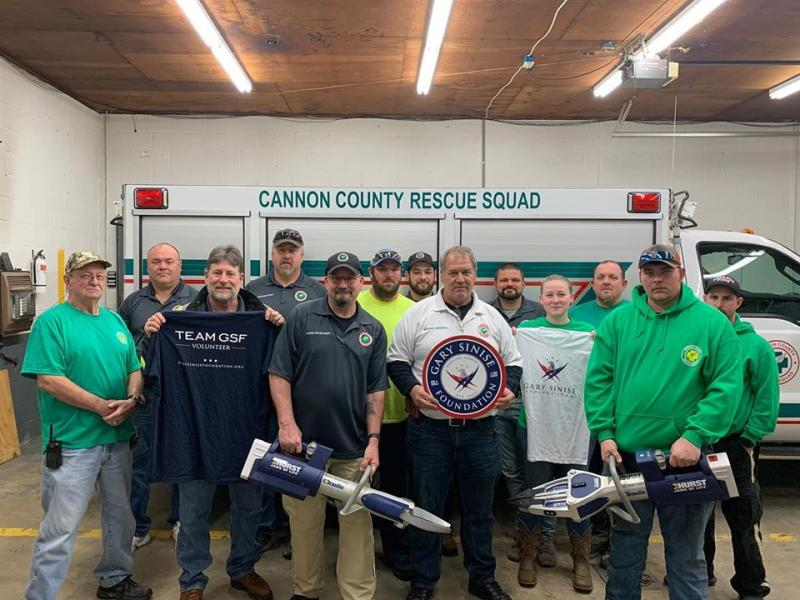 Cannon Rescue Squad Awarded Hurst Jaws Of Life