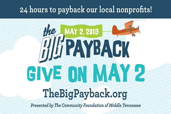 Help four local organizations during The Big Payback