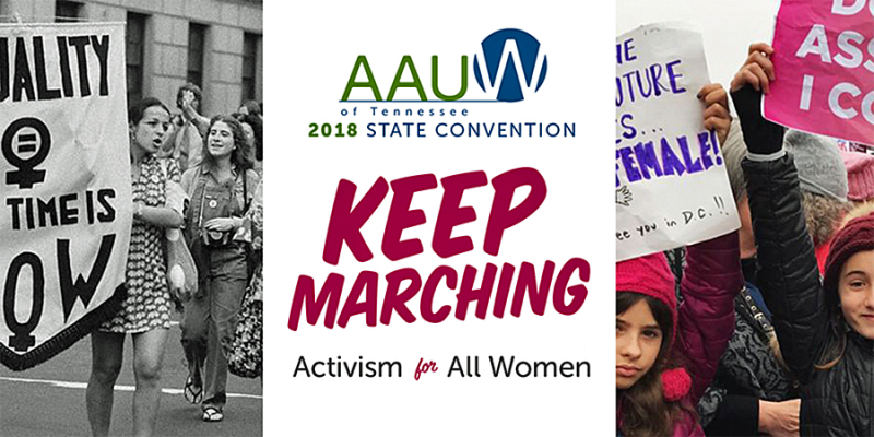 AAUW state convention at MTSU on March 17-18
