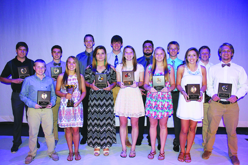 High School athletes win top honors