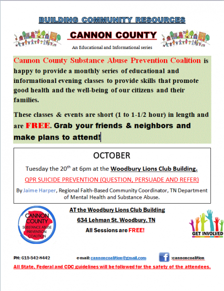 Coaltion To Host Community Resources Event