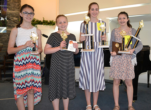 2019 Regional Bible Drills winners