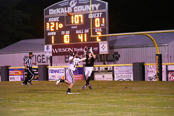 Cannon County falls short against DeKalb Tigers