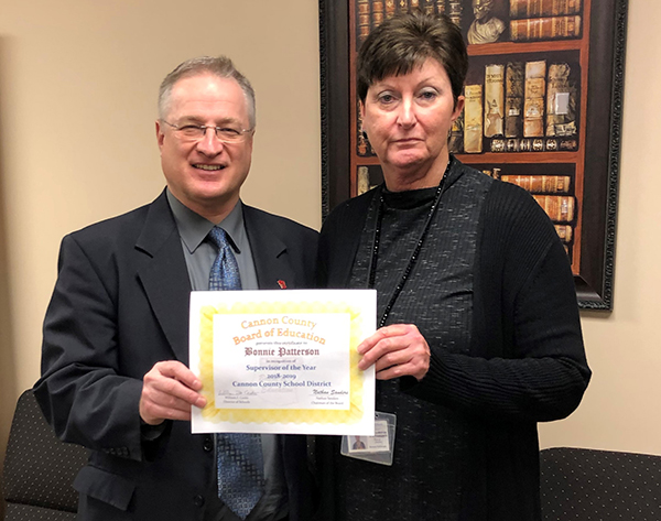 Bonnie Patterson named Upper Cumberland Region Supervisor of the Year