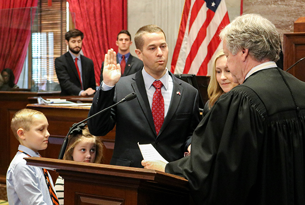 Boyd officially sworn in as member of 110th General Assembly