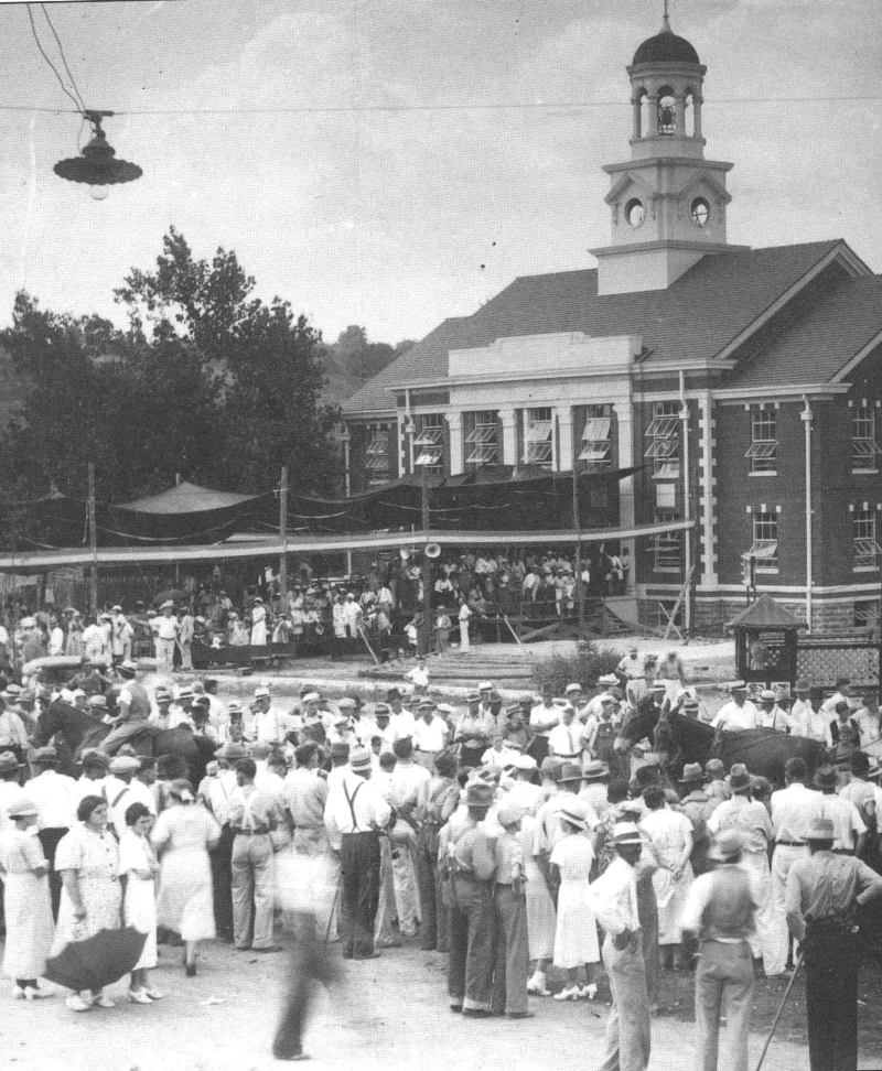 Woodbury: Remembering a town's 'Dust Bowl' years