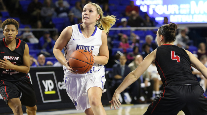 Abbey Sissom plays key role with MTSU