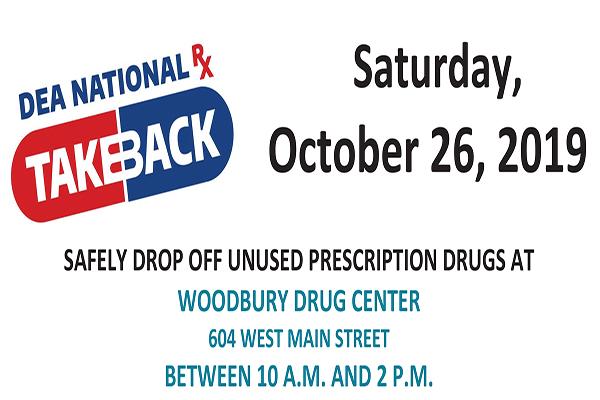 October Drug Take Back Day set