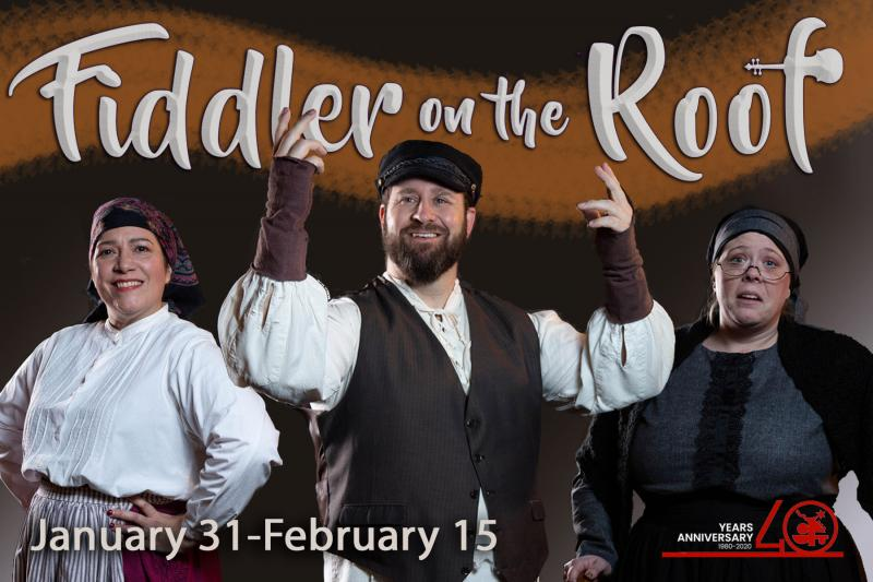 Fiddler On The Roof Opens 40th Season Of Arts Center Productions