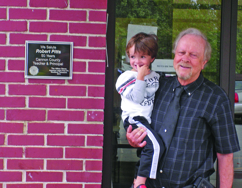 Flag pole honors Robert Pitts
