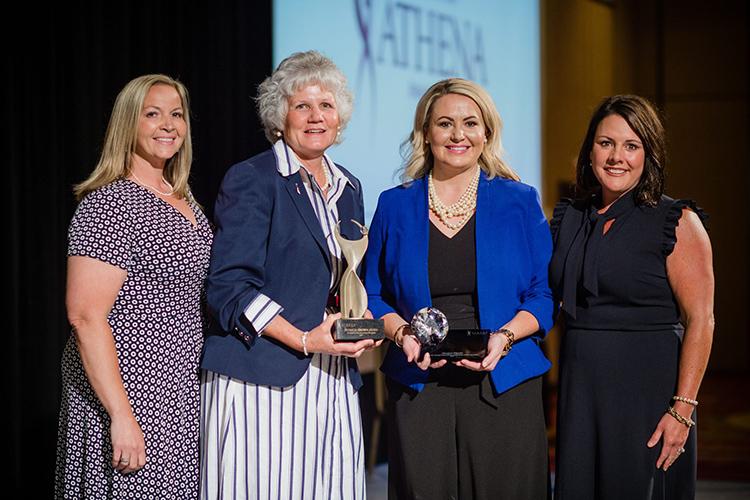 United Way's Megan Flippin Receive Athena Award