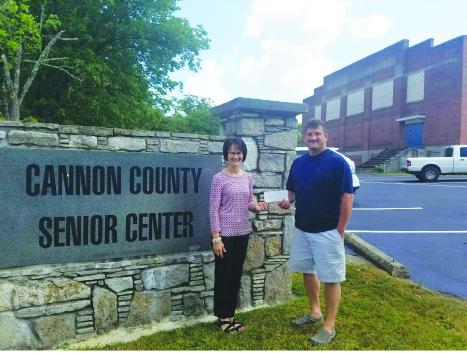 Donation to Senior Center