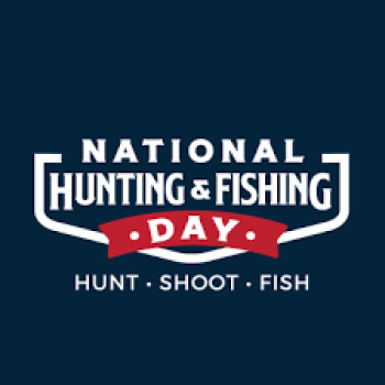 September 25th Hunting And Fishing Day