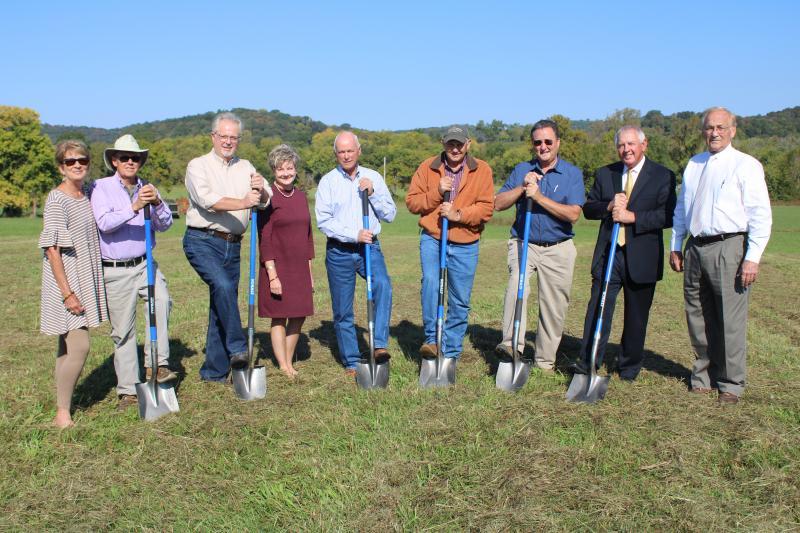 Homeland Community Bank Breaks Ground In Woodbury