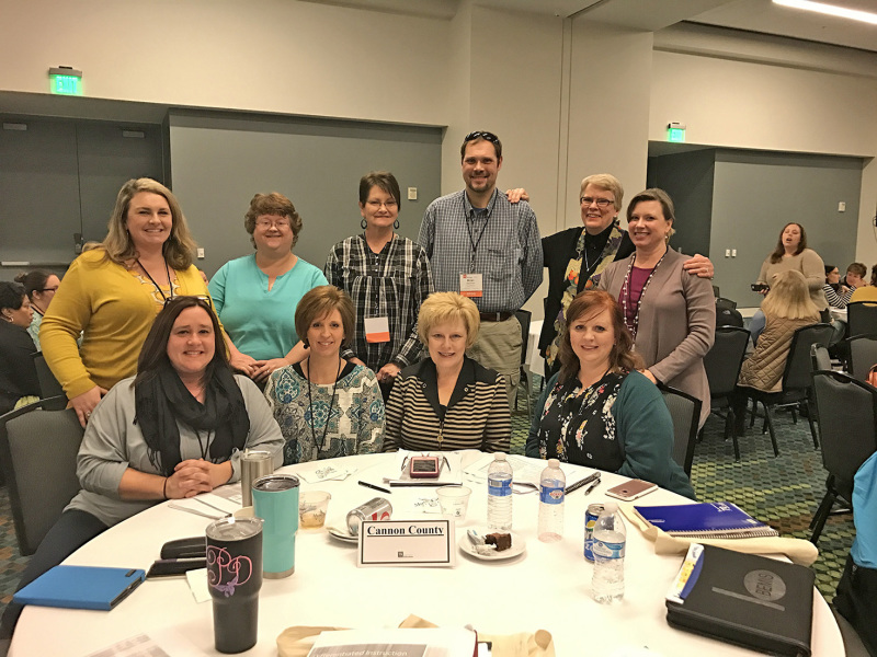 Woodland SPDG Team attends PIE Conference
