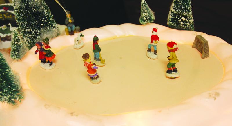 Carolyn enjoys Christmas fun