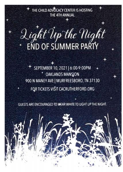 Light Up The Night Friday For Child Abuse Victims