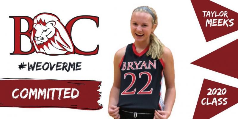 Meeks headed to Bryan College