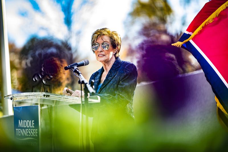 MTSU 'salutes' veterans, Gold Star Families