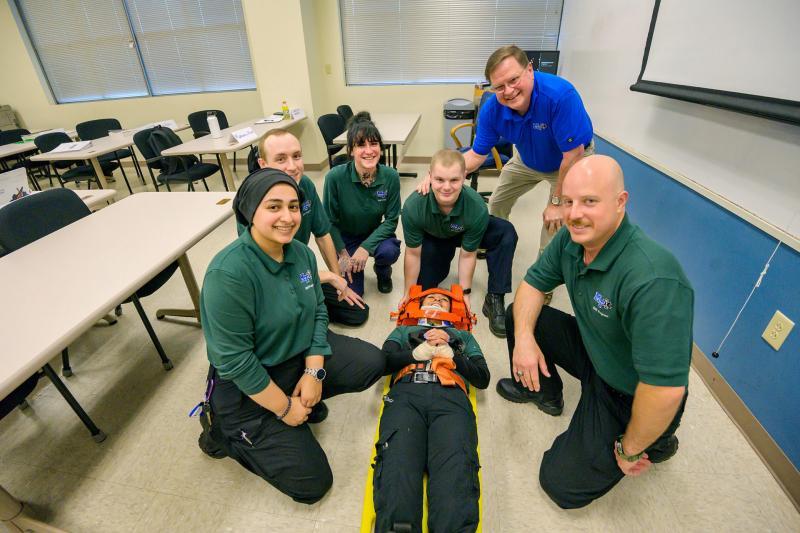 Long Time EMT Instructor Preps MTSU Students