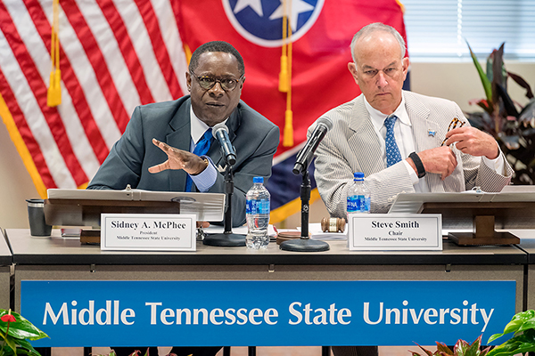 MTSU employees get pay raise