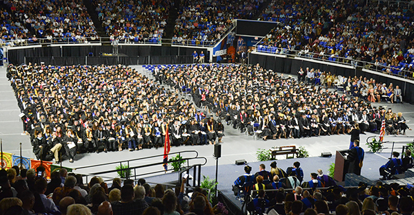 2,641 grads are ready for MTSU's commencement events