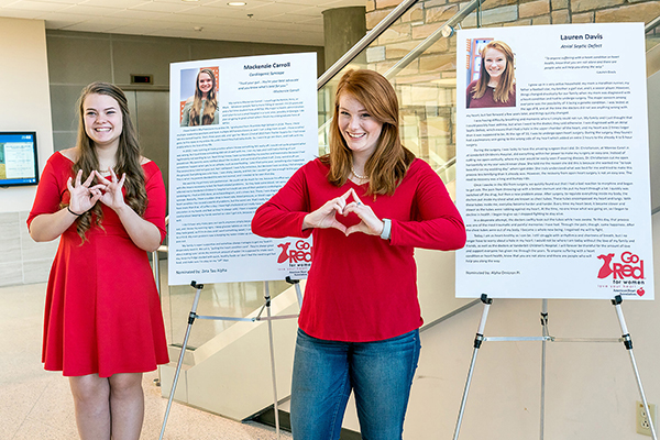 MTSU Go Red for Women Day event raises women's heart health awareness