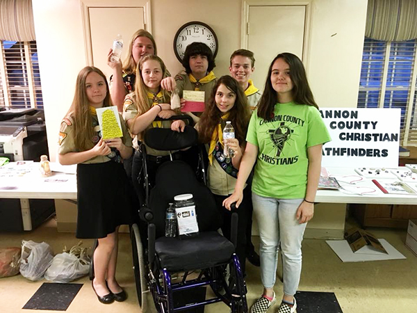 Pathfinder Club raises money for 'Wheels for the World'