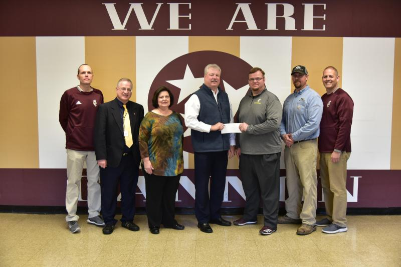 Football Program Gives Thanks To First National Bank