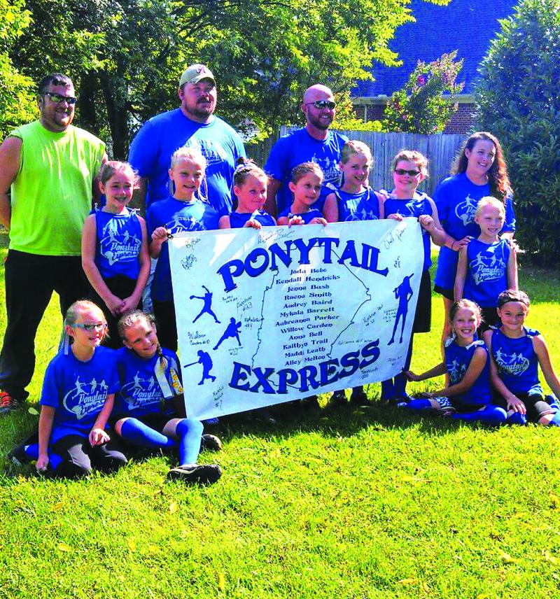 Ponytail Express rides on
