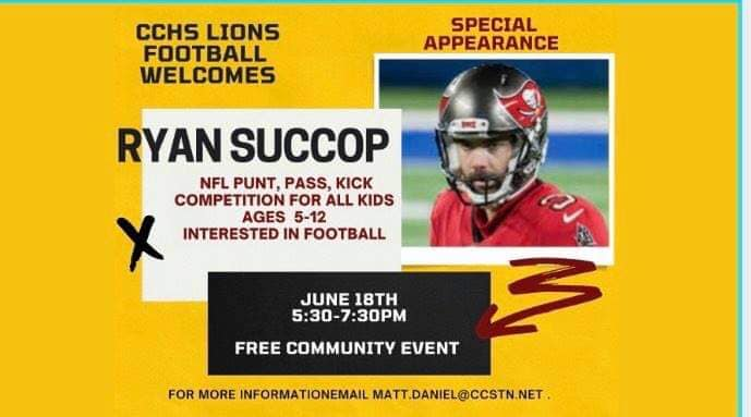 NFL Punt Pass Kick Competition At CCHS Tonight