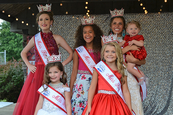 Auburntown Red Apple Days (RAD) Beauty Queens