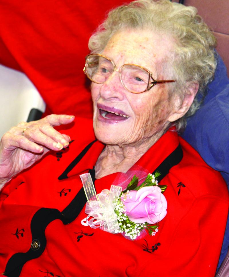 Miss Ruby shines on 104th birthday
