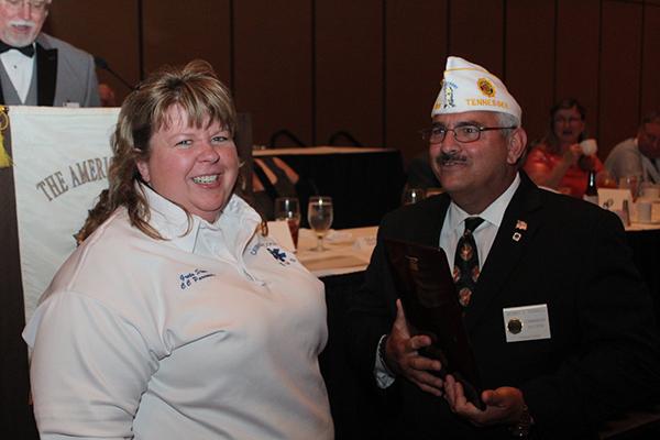 Greta Stone receives Legion's top EMT honor