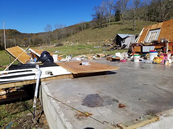 Tornado touches down near Auburntown