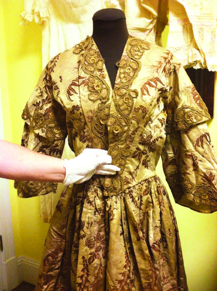 Mattie's historic dress recovered