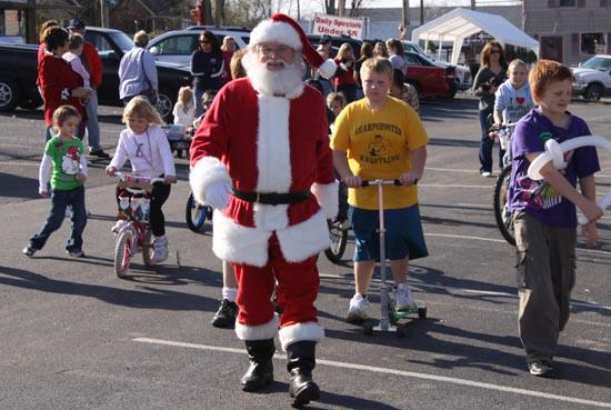 Lions Club Stride For Diabetes; Push, Pull And Pedal Parade