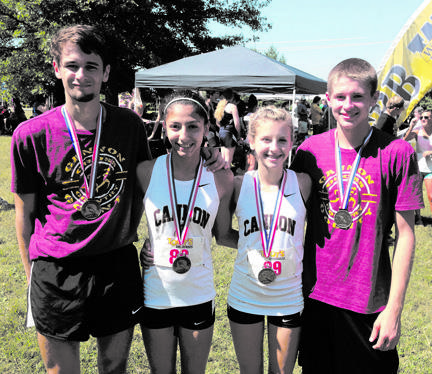 Cross-country medalists