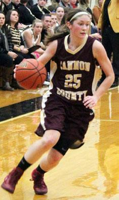 Cannon girls extend winning streak