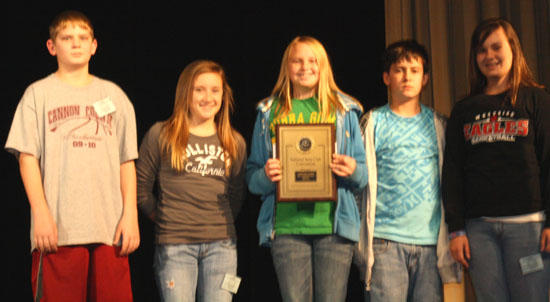 West Side Beta Club Second In Living Literature Competition