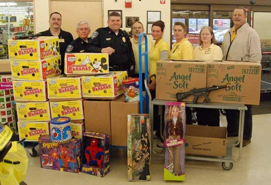 Dollar Market, Auction House Support Toys For Tots