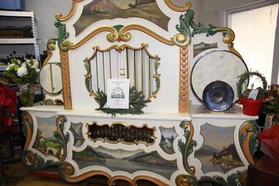 Restoration Of Early 20th Century Caroussel Organ Complete