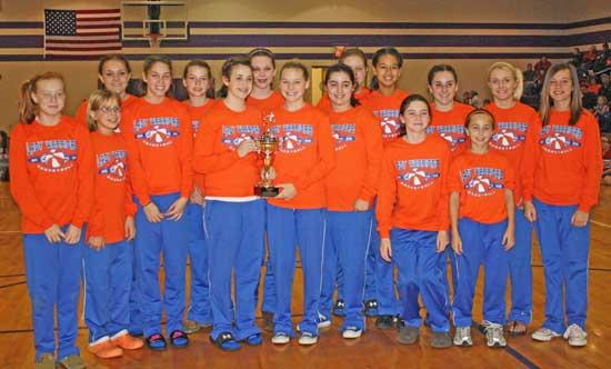 Woodland Girls, Auburntown Boys Win Grammar School Cancer Tournament