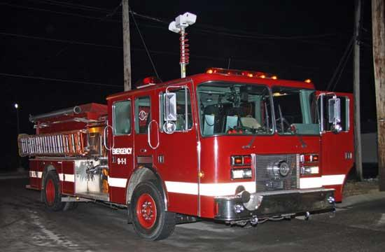 Woodbury Town Council  Hears About Newest Firefighting Machine