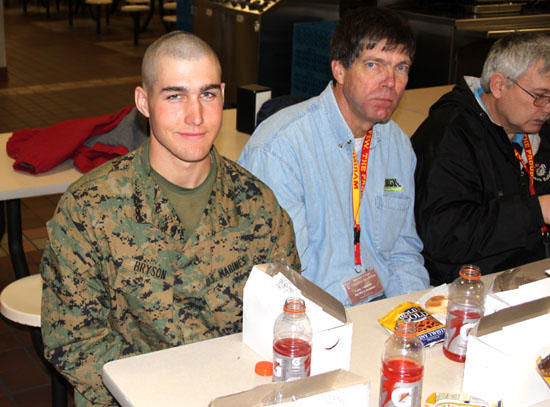 Ben Bryson Finds The Marine Corps To Be A Perfect Fit