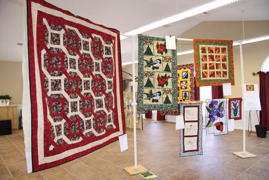 Old Fashioned Quilts On Display At Senior Center