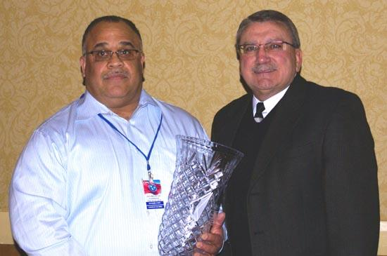 Cope Earns Achievement Award In Emergency Services